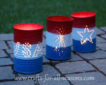 4th of july luminary