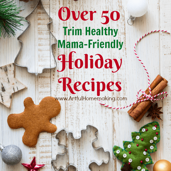 trim healthy mama holiday recipes