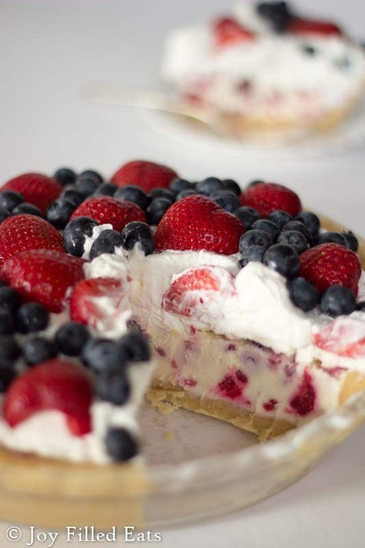 trim healthy mama 4th of july desserts