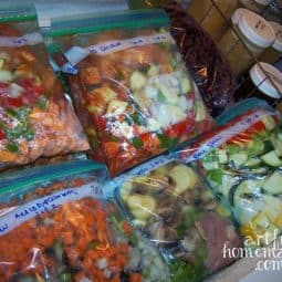 Save Time With Trim Healthy Mama Slow Cooker Freezer Meals