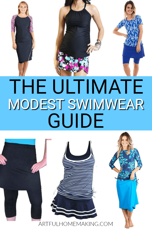 Where to Find Modest Swimwear