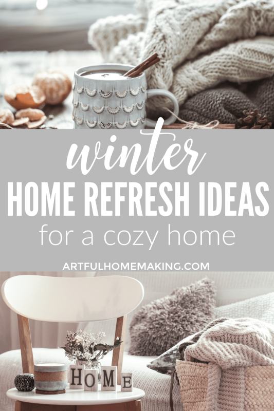 January Home Refresh Ideas
