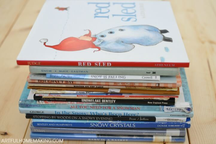 winter picture books
