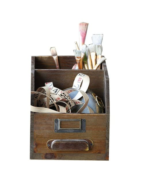 vintage farmhouse organization