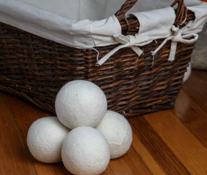 save money with wool dryer balls